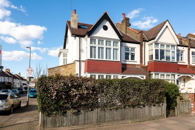 Thumbnail End terrace house for sale in Burntwood Lane, London