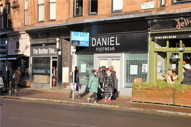 Thumbnail Retail premises to let in 193 Hyndland Road, Glasgow, City Of Glasgow