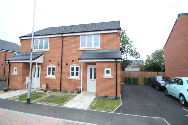 Thumbnail Semi-detached house for sale in Star Cottages, Private Road, Stoney Stanton, Leicester