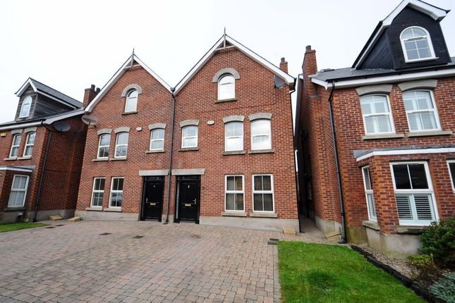 Thumbnail Semi-detached house for sale in Clonallon Square, Belmont, Belfast