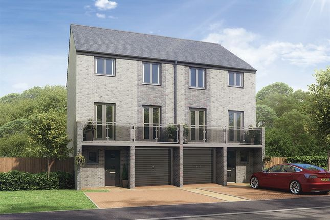 "Thumbnail Semi-detached house for sale in ""The Winchester"" at Whinney Hill, Durham"