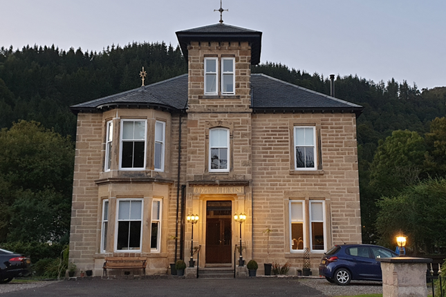 Thumbnail Detached house for sale in Leny Road, Callander