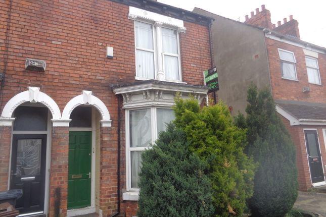 Thumbnail End terrace house for sale in Lambert Street, Hull