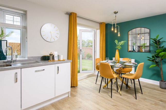 """Thumbnail Semi-detached house for sale in """"Kennett"""" at Birdhaven Close, Banbury Road, Lighthorne, Warwick"""