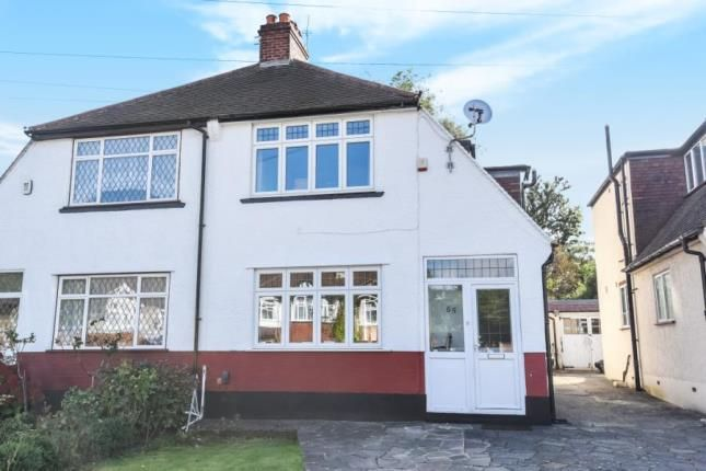 Thumbnail Semi-detached house for sale in Links View Road, Shirley, Croydon