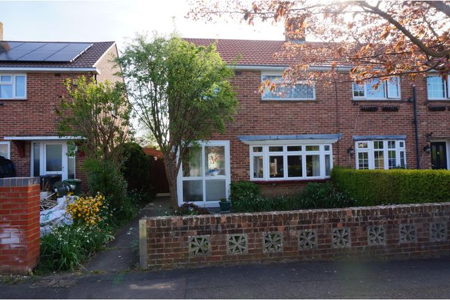 Thumbnail End terrace house for sale in Adderbury Avenue, Emsworth