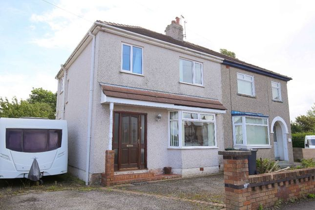 Thumbnail Semi-detached house for sale in Needham Avenue, Morecambe