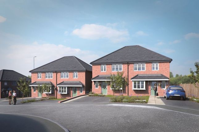 Thumbnail Semi-detached house for sale in Dudley, Holly Hall, Stourbridge Road, Church View, Plot Three