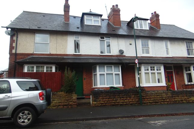 Thumbnail Town house for sale in Loscoe Mount Road, Nottingham