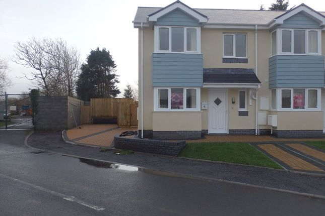 Thumbnail End terrace house for sale in Copperworks Road, Llanelli