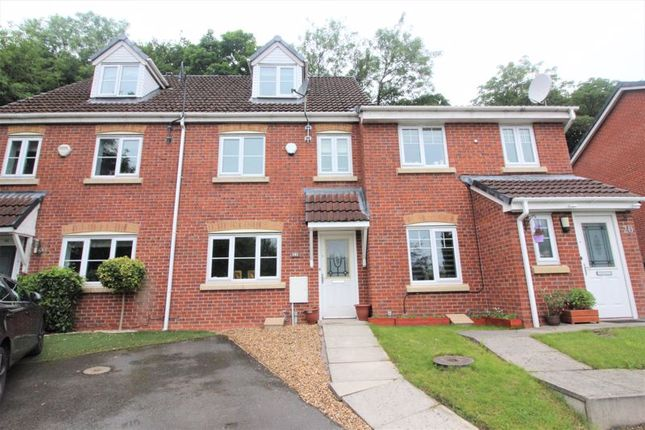 Thumbnail Town house to rent in Tunstall Close, Bury