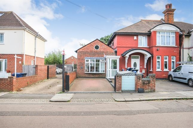 Thumbnail Semi-detached bungalow for sale in Kings Avenue, Greenford, Greater London