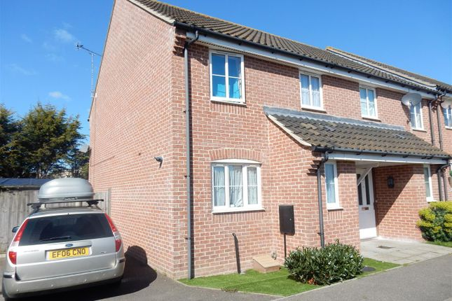 Thumbnail End terrace house to rent in Harpers Way, Clacton-On-Sea