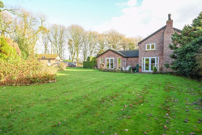 Thumbnail Detached house for sale in Ormskirk Road, Bickerstaffe, Ormskirk