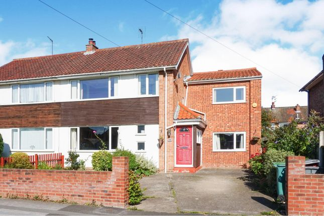 Thumbnail 4 bed semi-detached house for sale in Stray Road, York