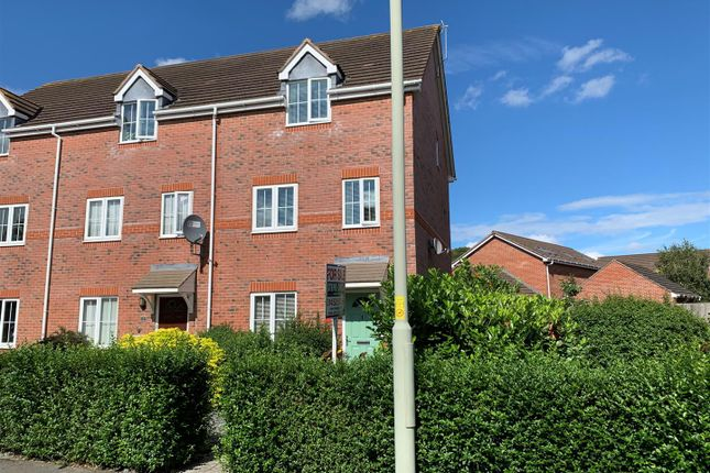 Thumbnail End terrace house for sale in Valley Gardens, Kingsway, Gloucester