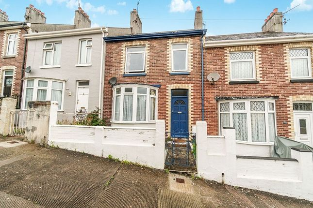 Thumbnail Terraced house to rent in Clinton Avenue, Plymouth