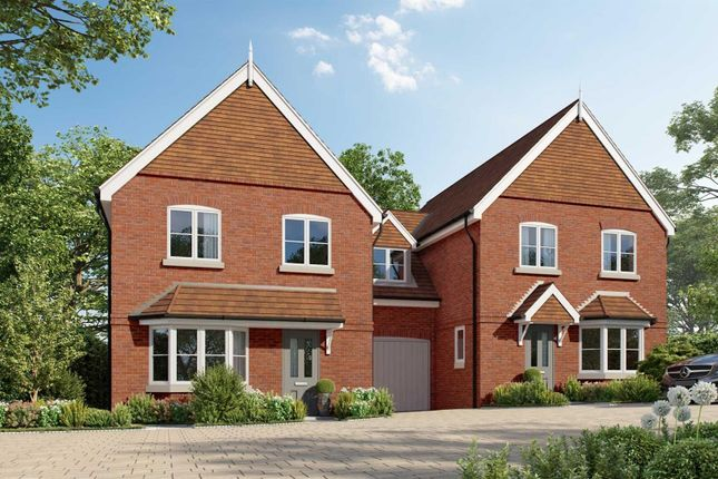 Thumbnail Link-detached house for sale in St. Marks Road, Binfield, Bracknell