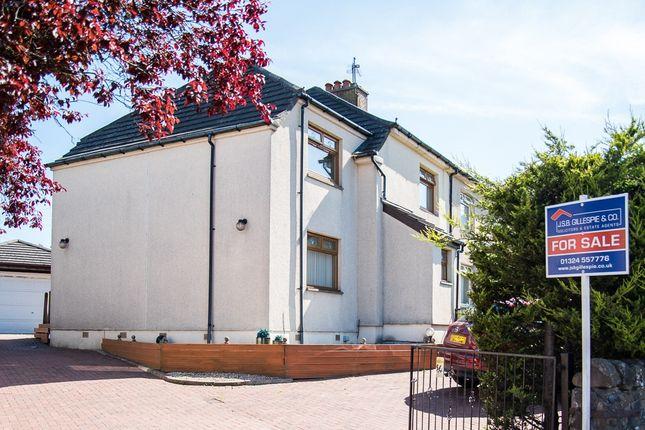 Thumbnail Semi-detached house for sale in Broomhill Road, Bonnybridge