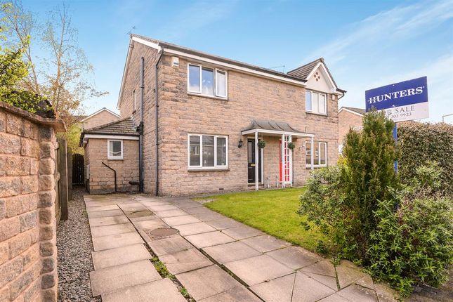 Thumbnail Semi-detached house for sale in Crofters Lea, Yeadon, Leeds