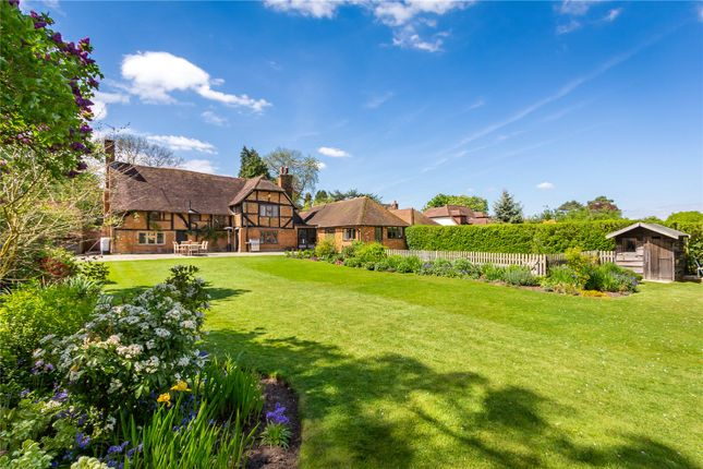 Thumbnail Detached house for sale in Frog Grove Lane, Wood Street Village, Guildford, Surrey