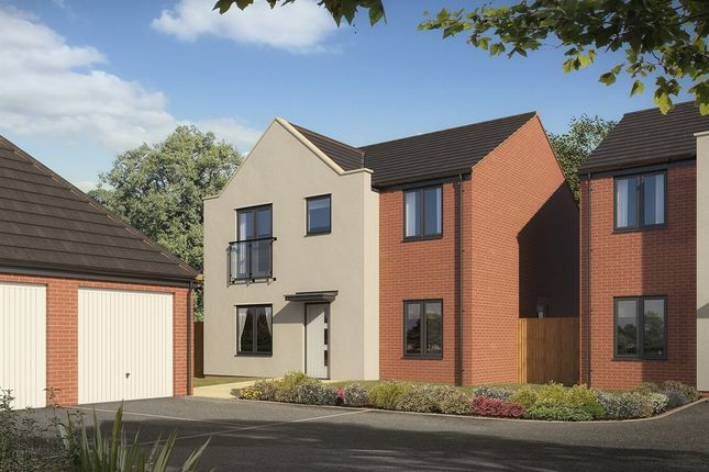"Thumbnail Detached house for sale in ""The Corfe"" at St. Catherine Road, Basingstoke"