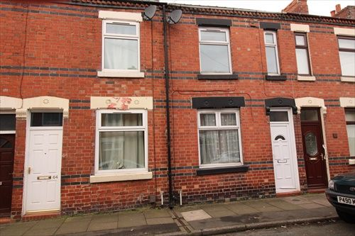 Thumbnail 2 bed terraced house to rent in Fielding Street, Stoke