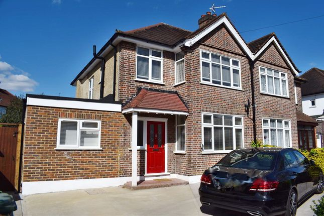 Thumbnail Semi-detached house for sale in College Avenue, Harrow Weald