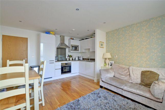 Lounge/Kitchen of Empire Reach, 4 Dowells Street, Greenwich, London SE10
