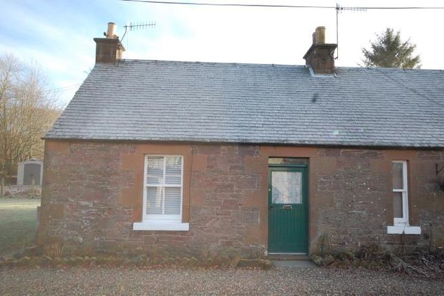 Thumbnail End terrace house to rent in Loanfoot Cottages, Skirling, Biggar