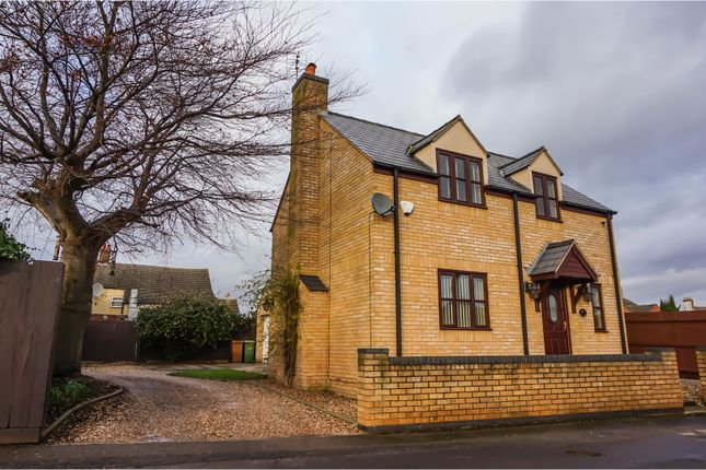 Thumbnail Detached house for sale in Back Lane, Peterborough