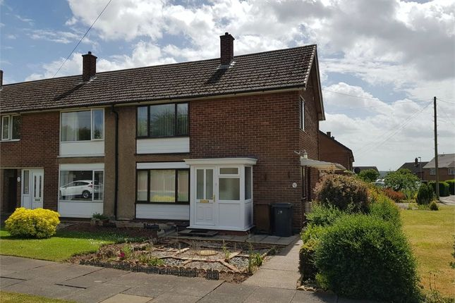 Thumbnail End terrace house to rent in Cherry Tree Road, Stapenhill, Burton-On-Trent, Staffordshire
