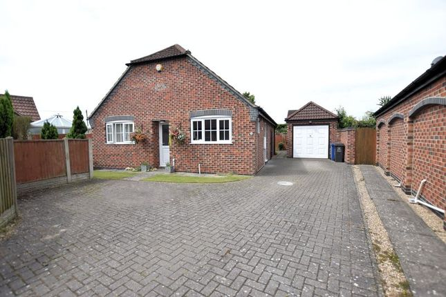 Thumbnail Detached bungalow for sale in Paddock Chase, Glentham, Market Rasen