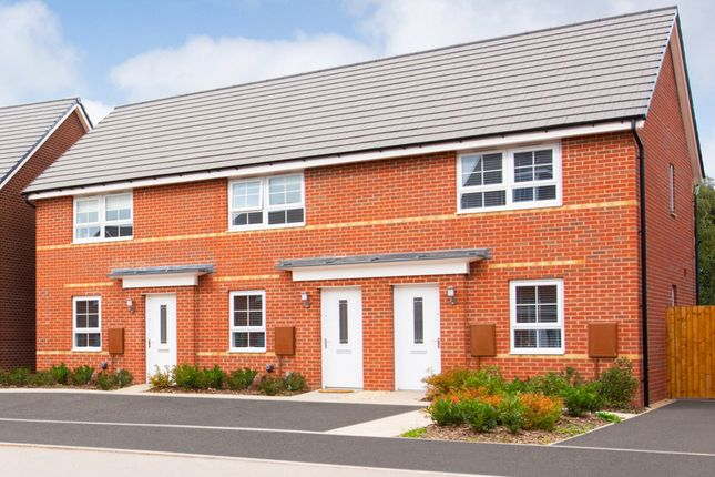 """Thumbnail Terraced house for sale in """"Kenley"""" at Tiber Road, North Hykeham, Lincoln"""