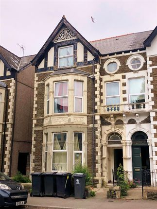 Thumbnail Block of flats for sale in Connaught Road, Roath, Cardiff