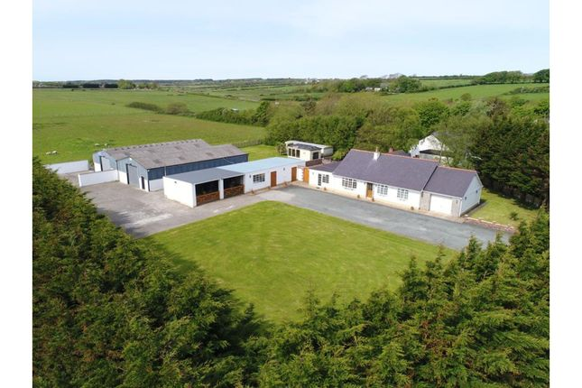 Thumbnail Detached bungalow for sale in Dwyran, Isle Of Anglesey