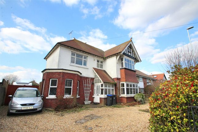 Thumbnail Detached house for sale in South Farm Road, Worthing, West Sussex