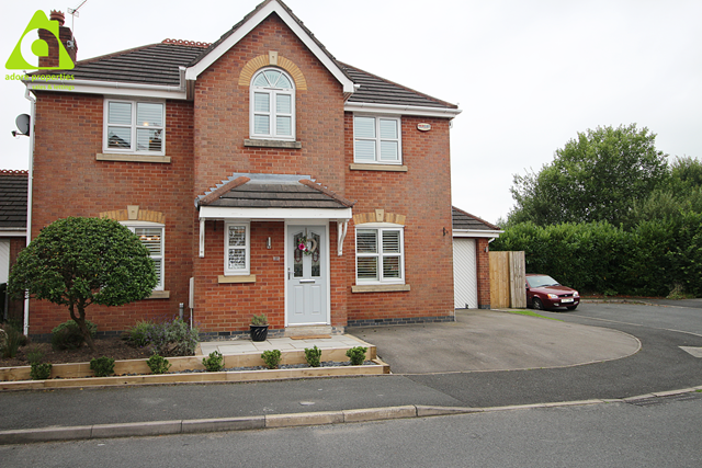 Thumbnail Detached house for sale in Bristle Hall Way, Westhoughton