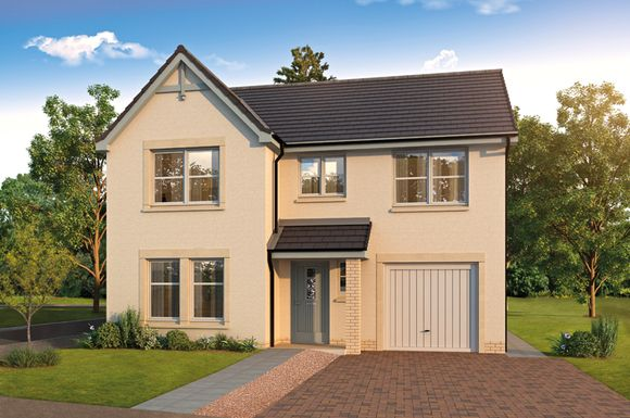 Thumbnail Detached house for sale in The Matheson, Kenneth Place, Dunfermline
