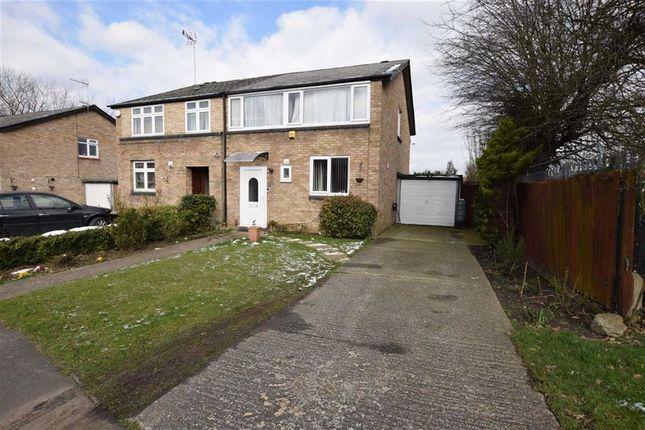 Thumbnail Semi-detached house for sale in Rise Park, Basildon, Essex