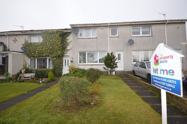 Terraced house to rent in Ashkirk Road, Strathaven, South Lanarkshire