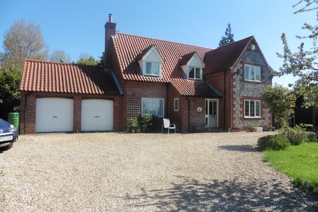 Thumbnail Detached house for sale in Common End, Colkirk