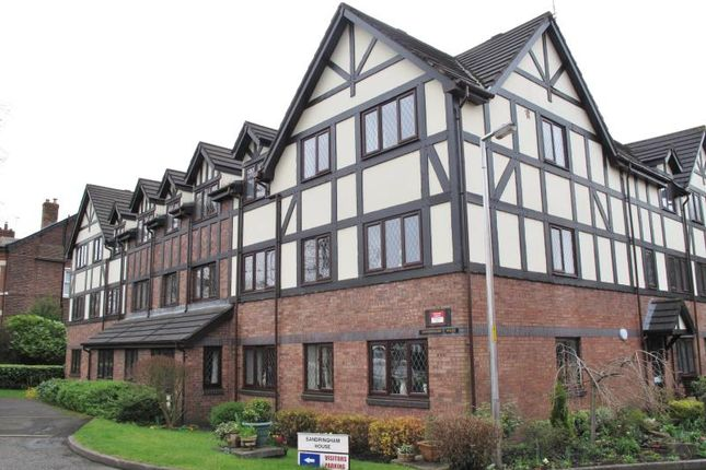 Thumbnail Flat to rent in 17 Sandringham House, 241 Stockport Road, Marple
