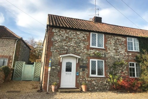 Thumbnail Cottage to rent in Burnham Road, North Creake, Fakenham