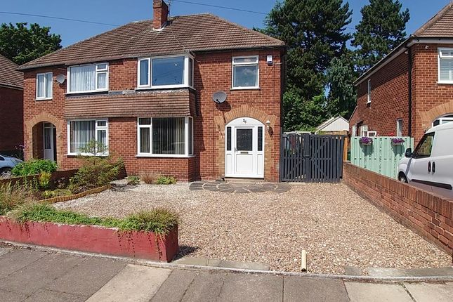 Thumbnail Semi-detached house for sale in Highbury Crescent, Bessacarr, Doncaster