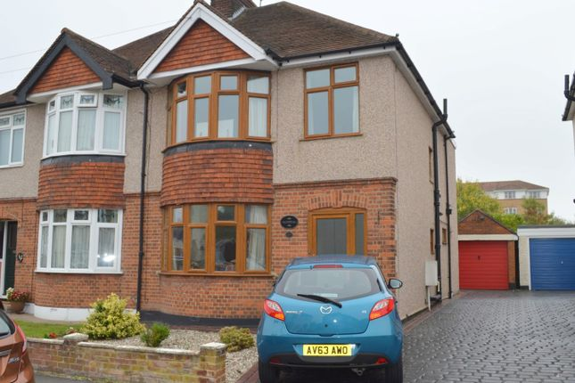 Thumbnail Semi-detached house for sale in Moulsham Drive, Chelmsford