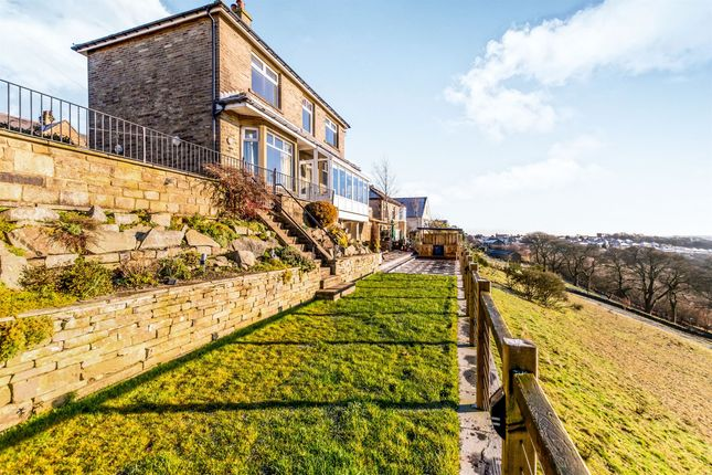 Thumbnail Detached house for sale in Roils Head Road, Norton Tower, Halifax