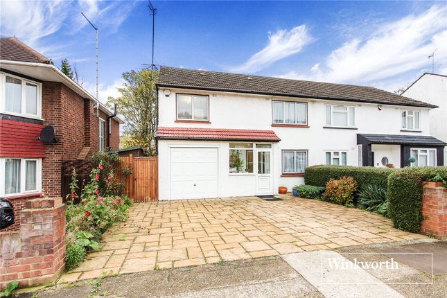 Thumbnail Semi-detached house for sale in Howcroft Crescent, Finchley, London