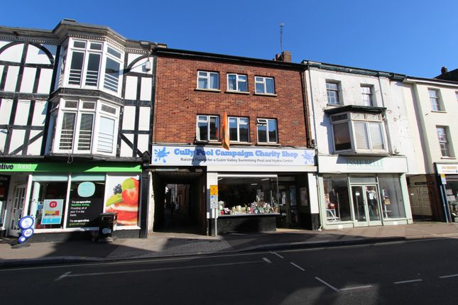 Thumbnail Block of flats for sale in Fore Street, Cullompton