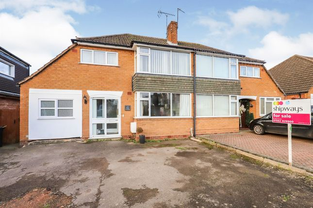 Thumbnail Semi-detached house for sale in Elan Avenue, Stourport-On-Severn